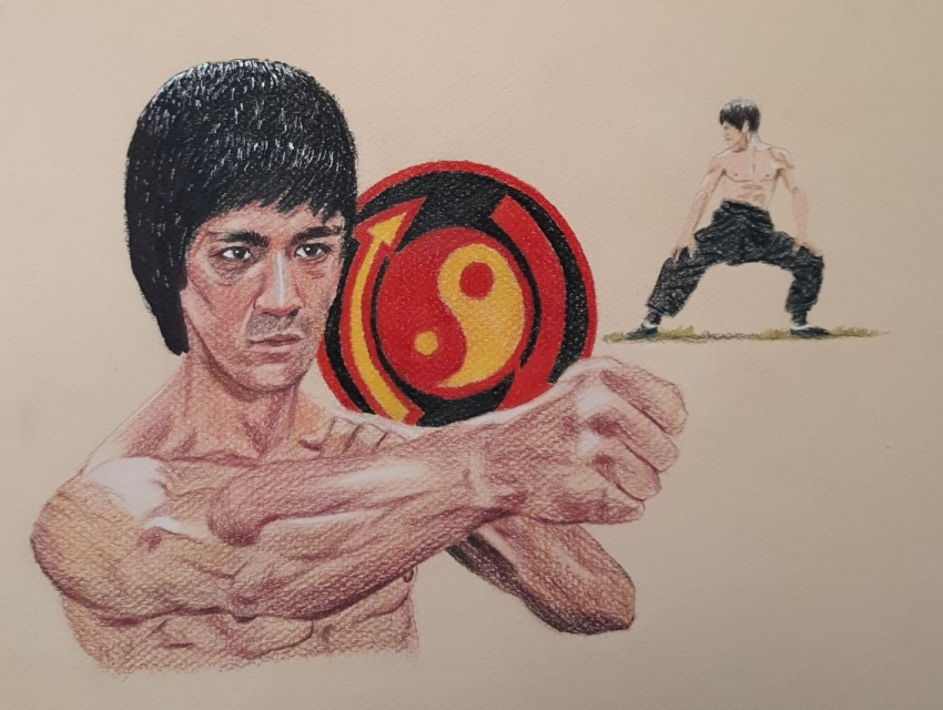 Bruce Lee by davido53